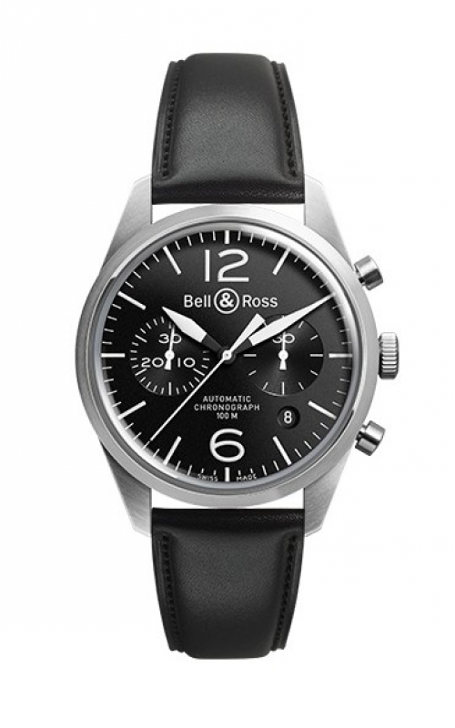 Bell and Ross Chronograph Watch BR126 Original Black product image