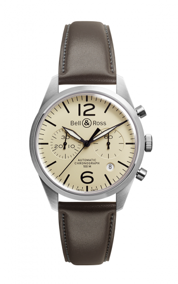 Bell and Ross Chronograph Watch BR126 Original Beige product image