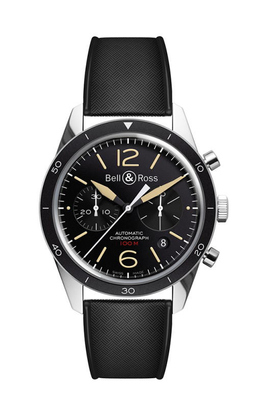 Bell and Ross Chronograph Watch BR 126 Sport Heritage product image