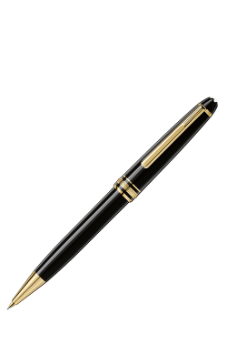 Montblanc Black Resin & Gold Pen 12746 product image