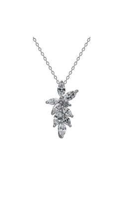 Suwa Marquise Cut Diamond Jewelry Necklace P23541DI product image