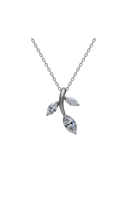 Suwa Marquise Cut Diamond Jewelry Necklace P23576DI product image