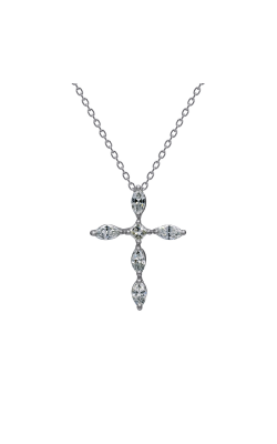 Suwa Marquise Cut Diamond Jewelry Necklace P32666DI product image