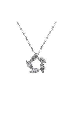 Suwa Marquise Cut Diamond Jewelry Necklace P32705DI product image