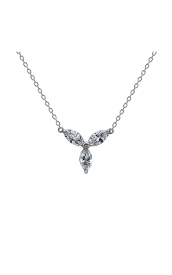 Suwa Marquise Cut Diamond Jewelry Necklace P32723DI product image