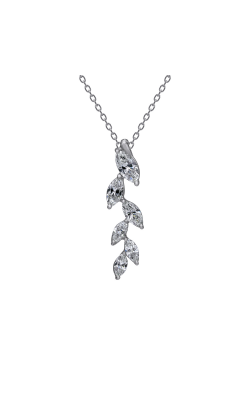 Suwa Marquise Cut Diamond Jewelry Necklace P32772DI product image